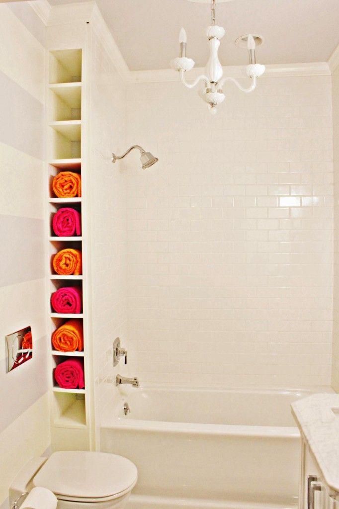 Best ideas about Towel Storage Ideas For Small Bathrooms . Save or Pin 10 Ways To Creatively Add Storage To Your Bathroom Now.
