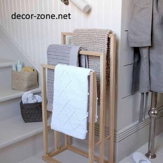 Best ideas about Towel Storage Ideas For Small Bathrooms . Save or Pin 10 bathroom towel storage ideas for small bathrooms Now.