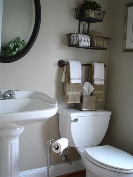 Best ideas about Towel Storage Ideas For Small Bathrooms . Save or Pin Creative Bathroom Storage Ideas Now.