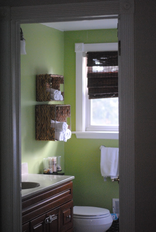 Best ideas about Towel Storage Ideas For Small Bathrooms . Save or Pin DIY Bathroom Towel Storage in Under 5 Minutes Now.