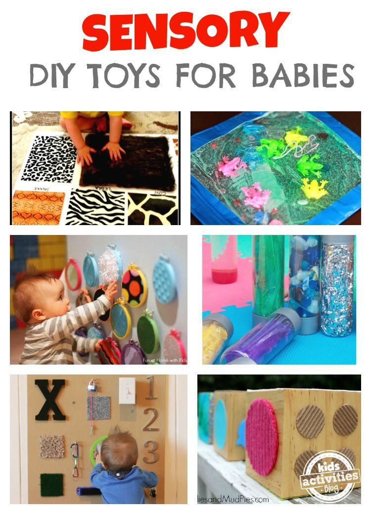 Best ideas about Toys Kids Can Make . Save or Pin DIY Toys for Babies Sensory and Heuristic play Now.