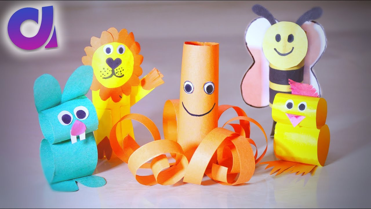 Best ideas about Toys Kids Can Make . Save or Pin 5 COOLEST PAPER TOYS FOR KIDS you can make at home Now.