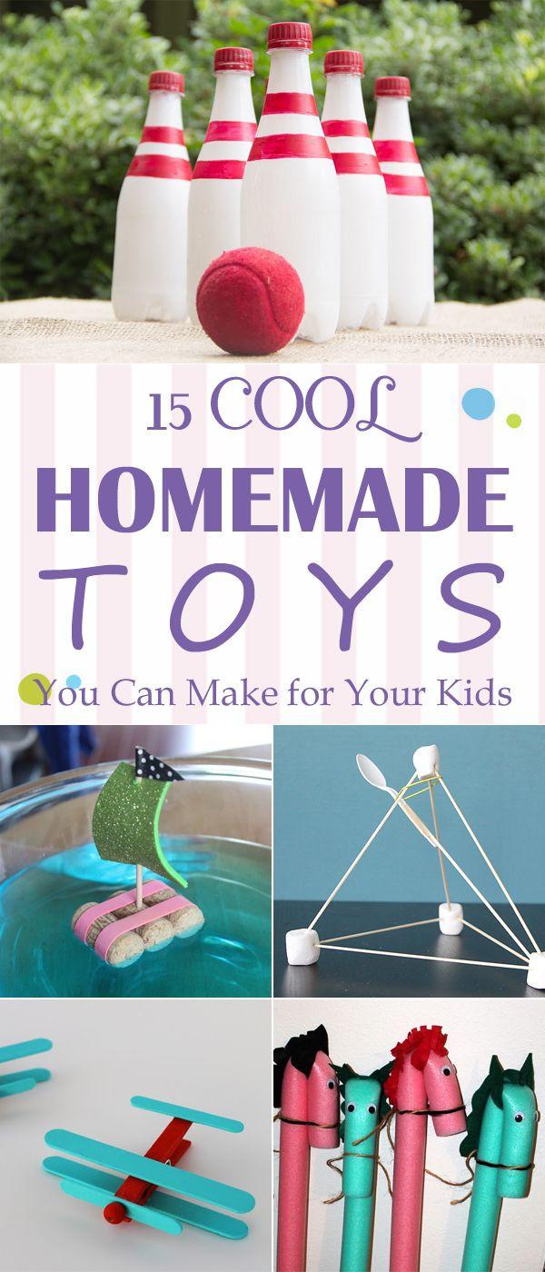 Best ideas about Toys Kids Can Make . Save or Pin De 25 bedste idéer inden for Homemade toys på Pinterest Now.