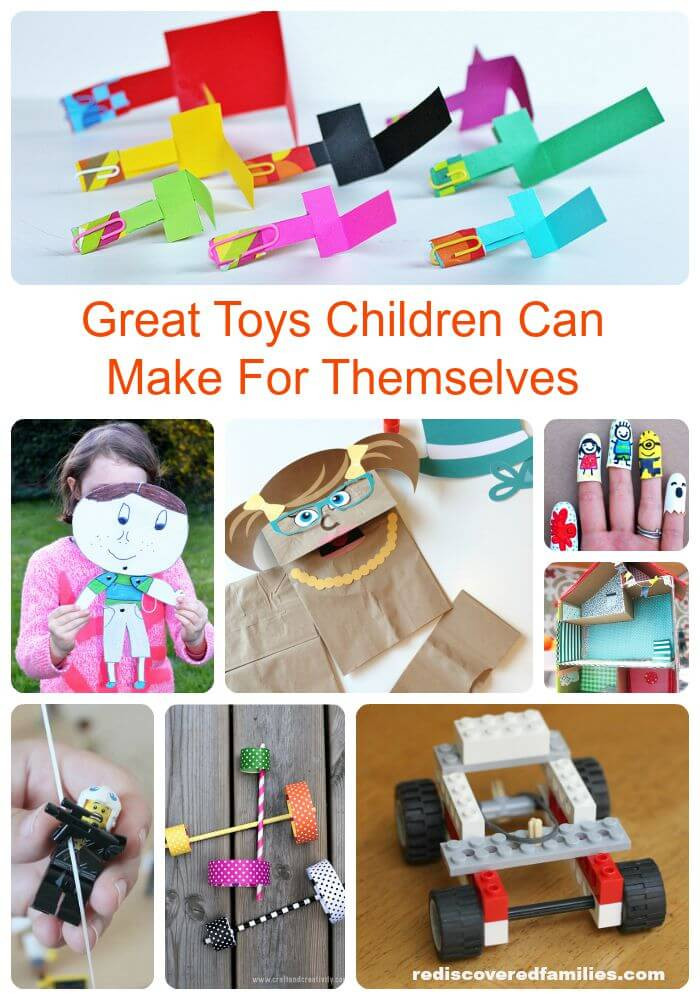 Best ideas about Toys Kids Can Make . Save or Pin Really Cool Toys For Kids To Make Themselves Now.