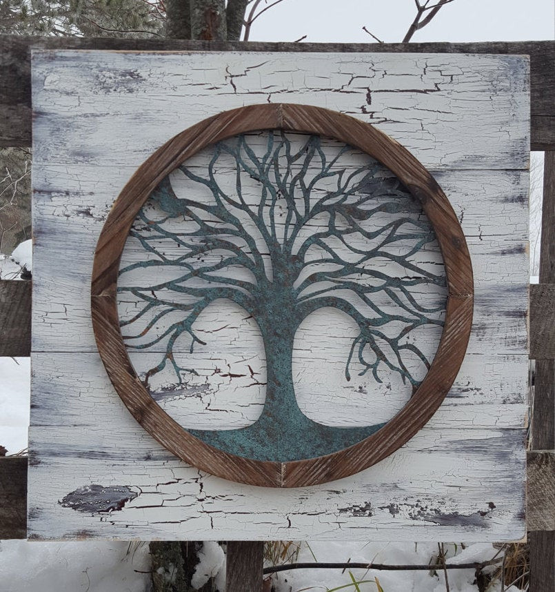 Best ideas about Tree Of Life Wall Art . Save or Pin Reclaimed wood Tree of life Wall Art Metal Wall Art Metal Now.