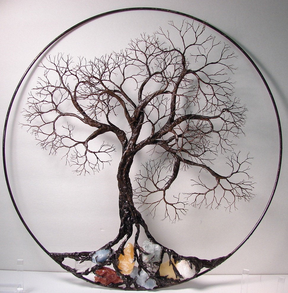 Best ideas about Tree Of Life Wall Art . Save or Pin Wire Tree Life Ancient Spirit sculpture with natural Now.