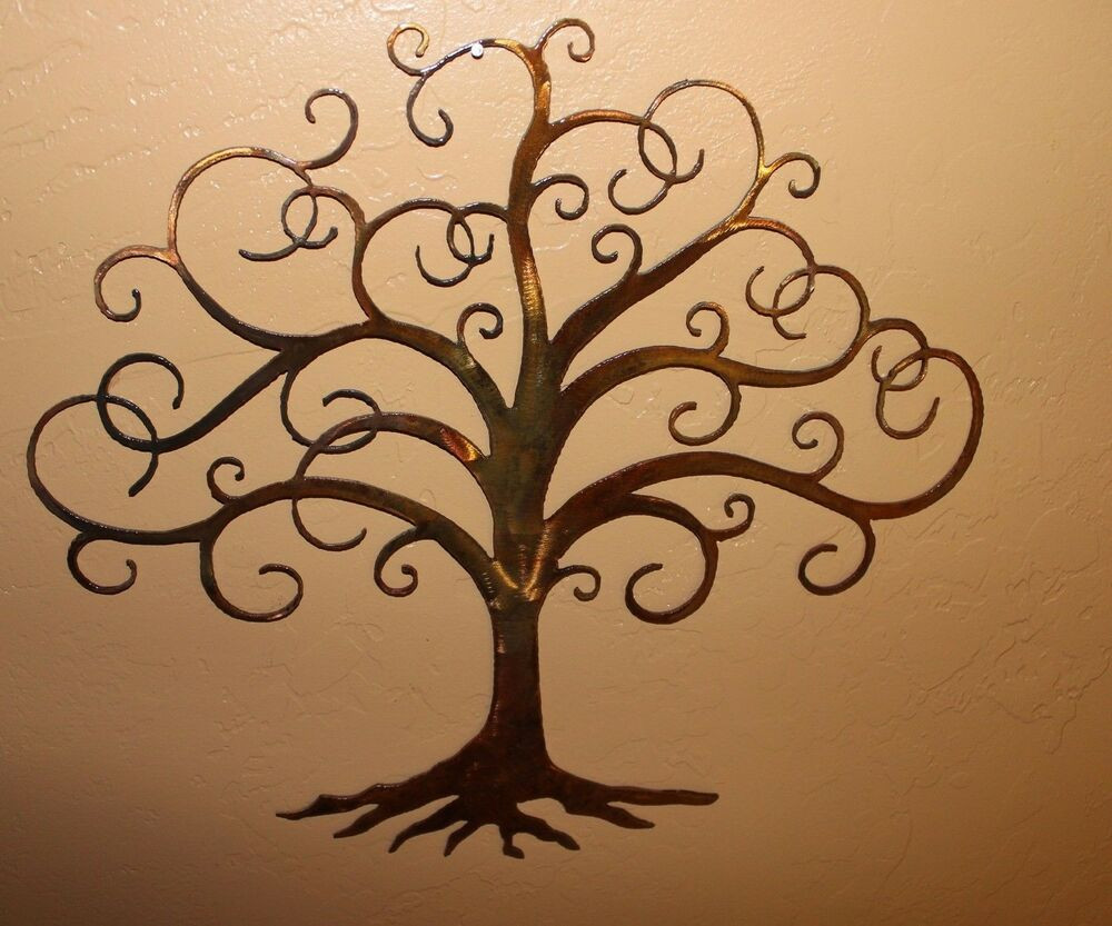 """Best ideas about Tree Of Life Wall Art . Save or Pin Swirled Tree of Life 30"""" tall Metal Wall Art Decor by HGMW Now."""