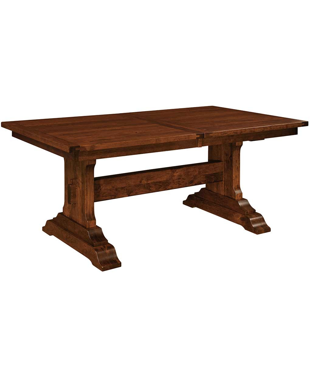 Best ideas about Trestle Dining Table . Save or Pin Manchester Trestle Dining Table Amish Direct Furniture Now.