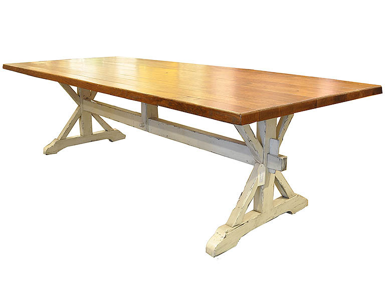 Best ideas about Trestle Dining Table . Save or Pin Oak Trestle Dining Table J Tribble Now.