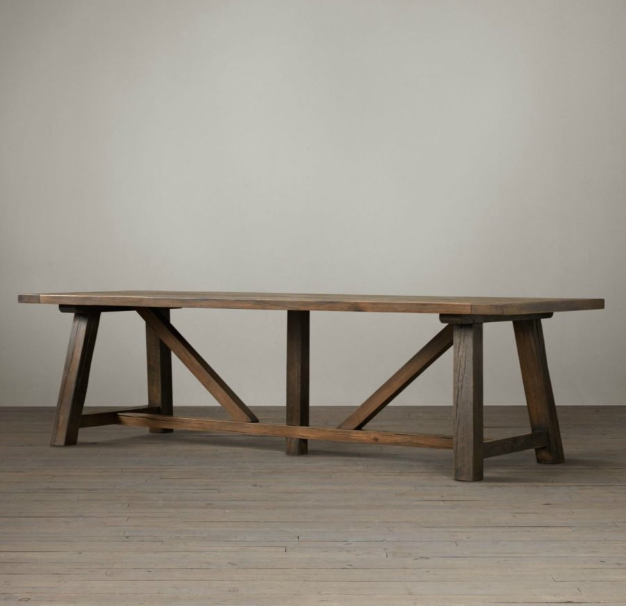 Best ideas about Trestle Dining Table . Save or Pin Modern Trestle Tables for Your Interior Now.