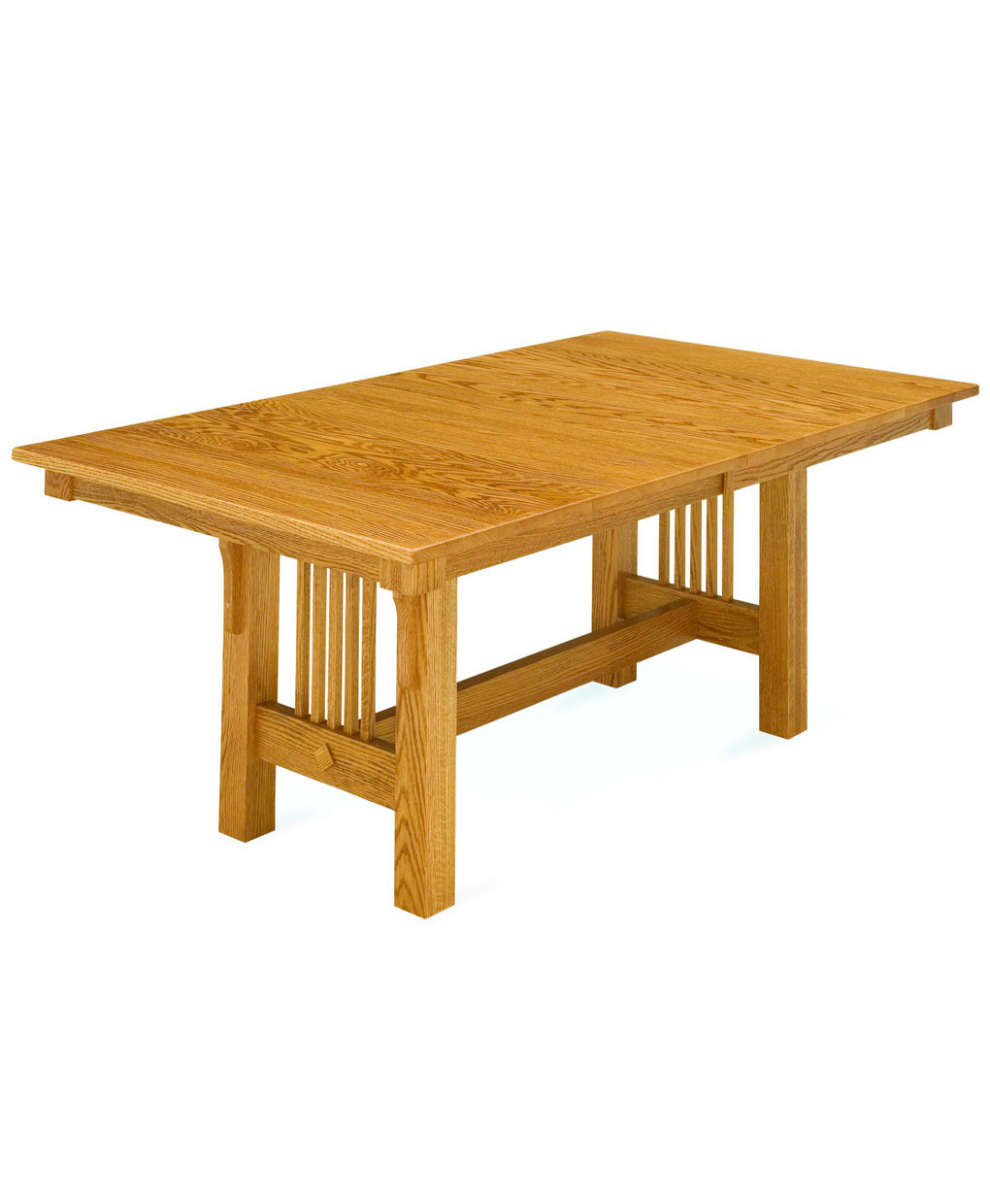 Best ideas about Trestle Dining Table . Save or Pin Trestle Mission Dining Table Amish Direct Furniture Now.