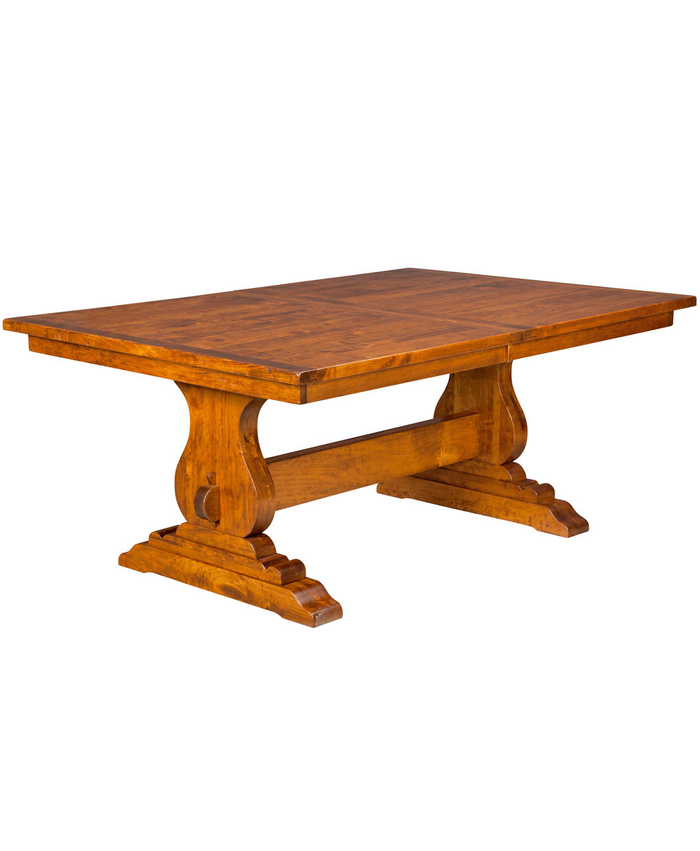 Best ideas about Trestle Dining Table . Save or Pin Austin Trestle Dining Table Amish Direct Furniture Now.
