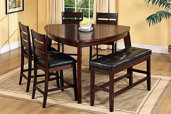 Best ideas about Triangle Dining Table . Save or Pin 20 Softly Shaped Curves of Triangular Dining Tables Now.