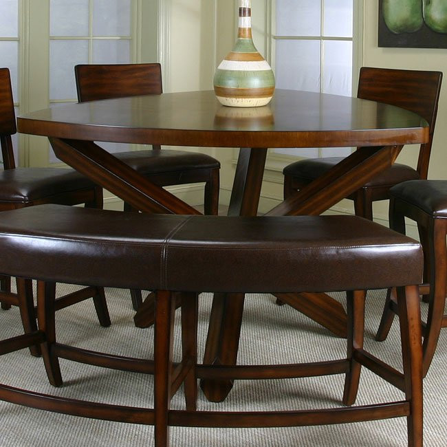 Best ideas about Triangle Dining Table . Save or Pin Shiraz Triangle Counter Height Dining Table Cramco Now.