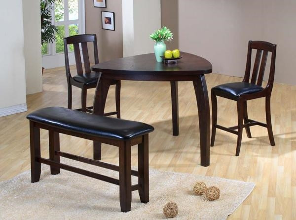 Best ideas about Triangle Dining Table . Save or Pin A triangle dining table – the convenience of the unusual shape Now.