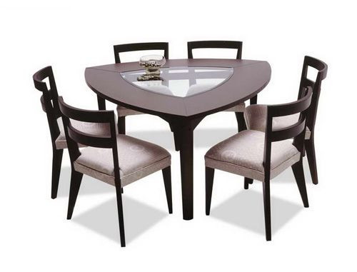 Best ideas about Triangle Dining Table . Save or Pin Triangular Dining Table Now.