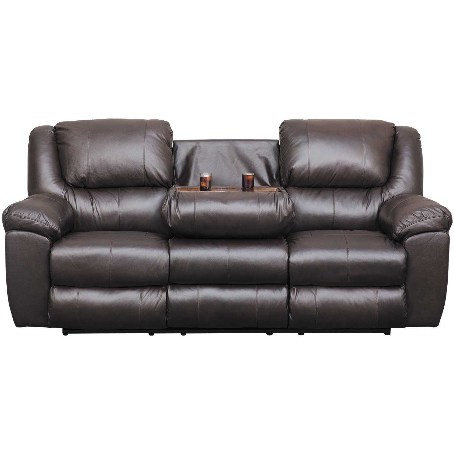Best ideas about Triple Reclining Sofa . Save or Pin Italian Leather Triple Power Reclining Sofa with Drop Now.
