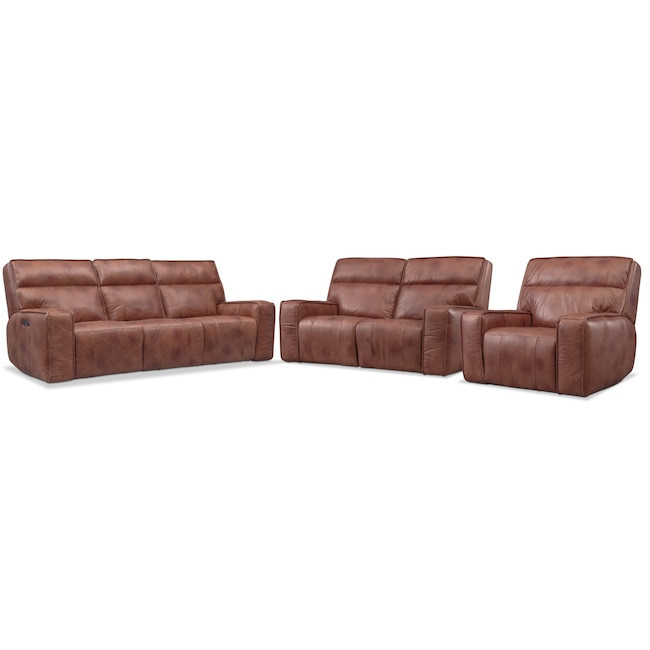Best ideas about Triple Reclining Sofa . Save or Pin Bradley Triple Power Reclining Sofa Reclining Loveseat Now.
