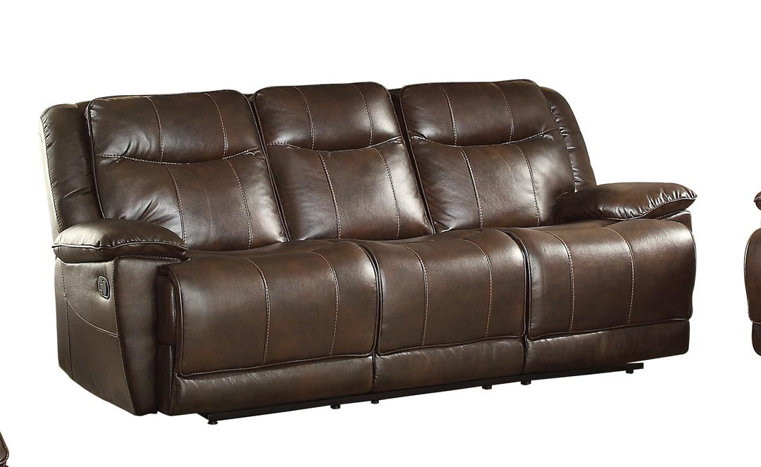 Best ideas about Triple Reclining Sofa . Save or Pin Homelegance Wasola Triple Reclining Sofa Leather Gel Now.