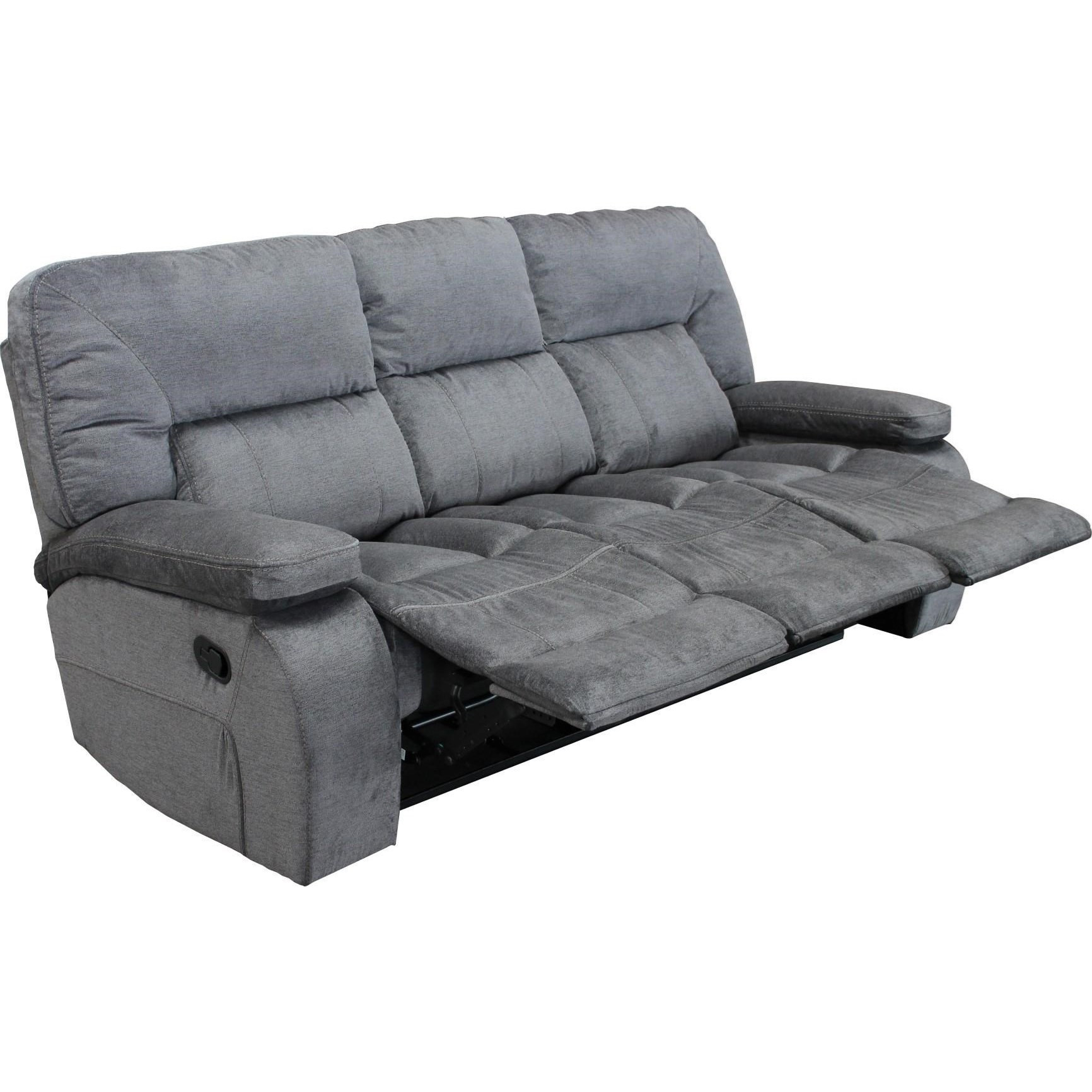 Best ideas about Triple Reclining Sofa . Save or Pin Theo Casual Triple Reclining Sofa with Pillow Arms Now.