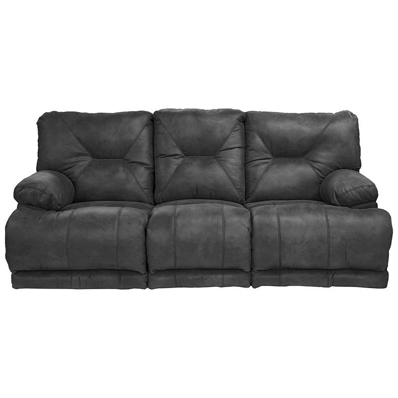 Best ideas about Triple Reclining Sofa . Save or Pin Voyager Power Lay Flat Triple Reclining Sofa Slate Now.