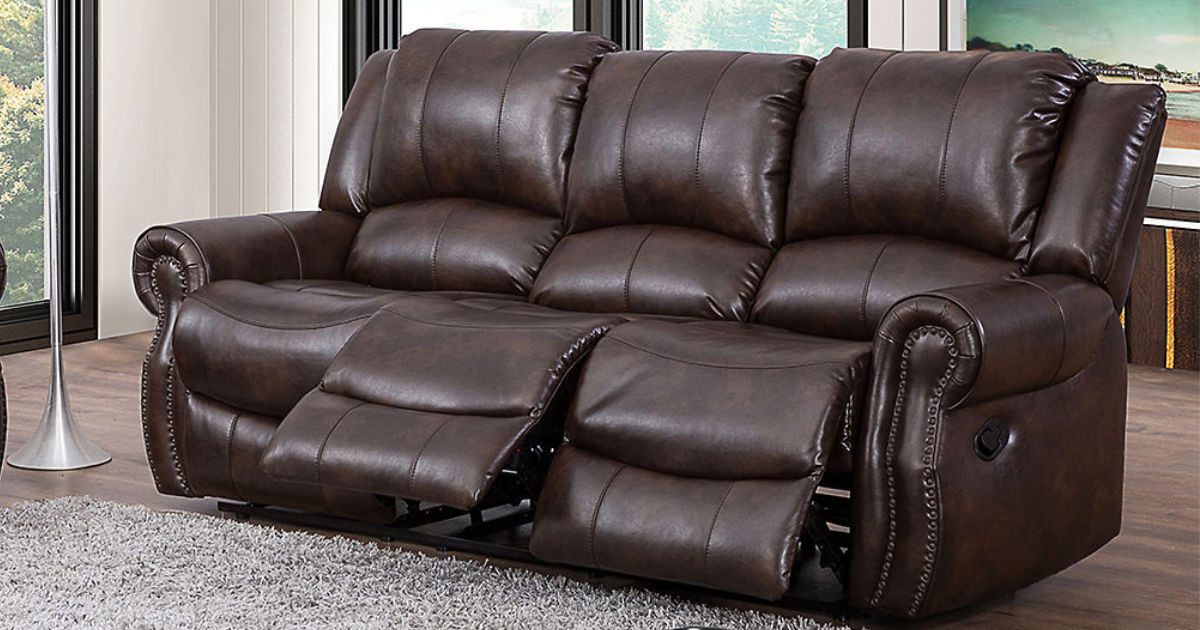 Best ideas about Triple Reclining Sofa . Save or Pin Triple Reclining Sofa Just $499 Shipped Regularly $1200 Now.