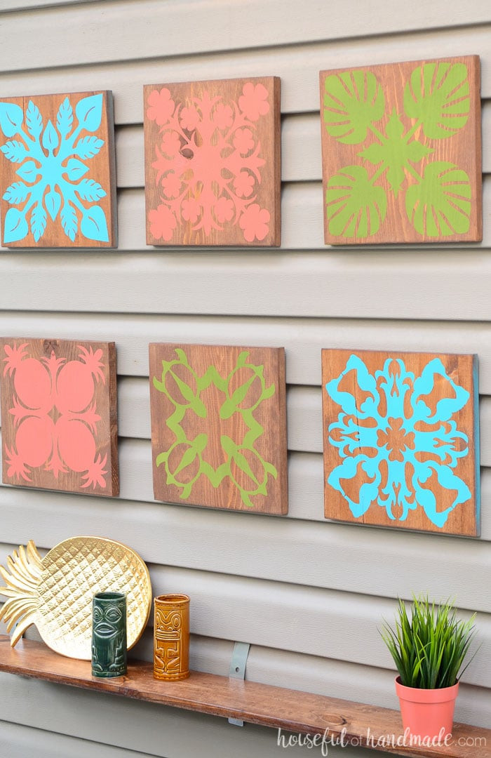 Best ideas about Tropical Wall Art . Save or Pin Easy Tropical Wall Art DIY a Houseful of Handmade Now.