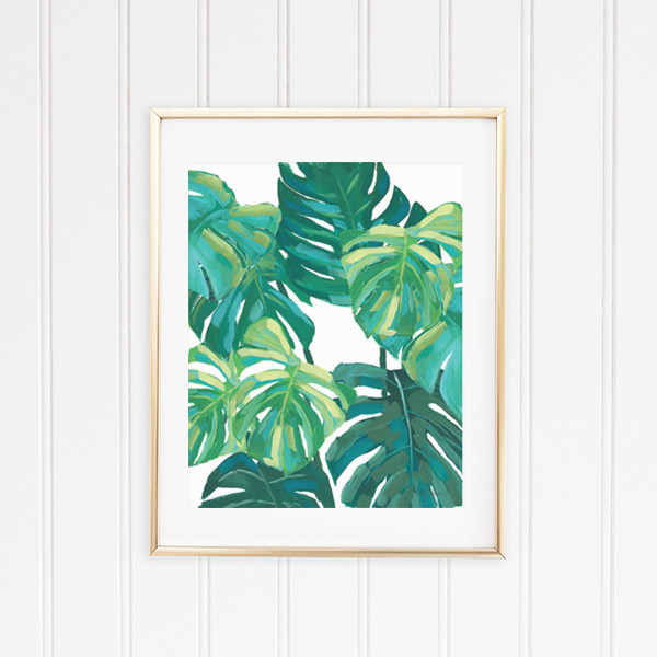 Best ideas about Tropical Wall Art . Save or Pin Tropical Art Prints Divinodessert Now.