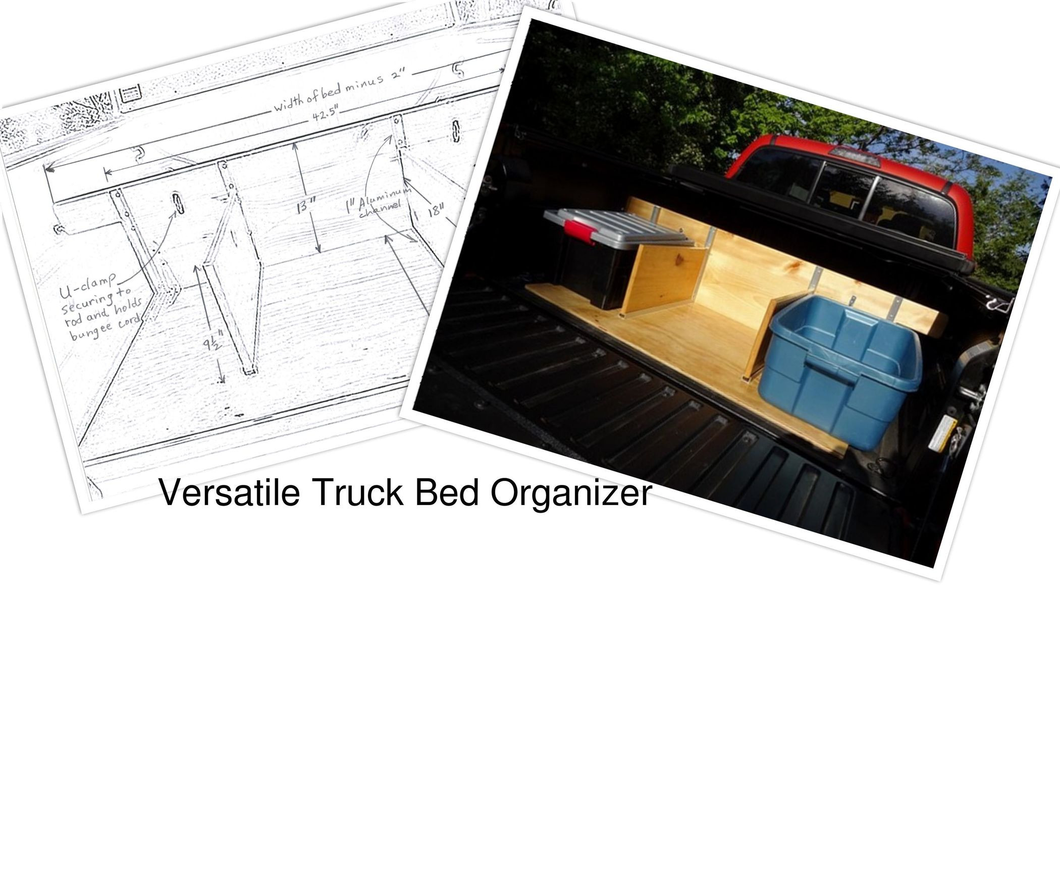 Best ideas about Truck Bed Organizer DIY . Save or Pin How to Build a Truck Bed Organizer 8 Steps with Now.