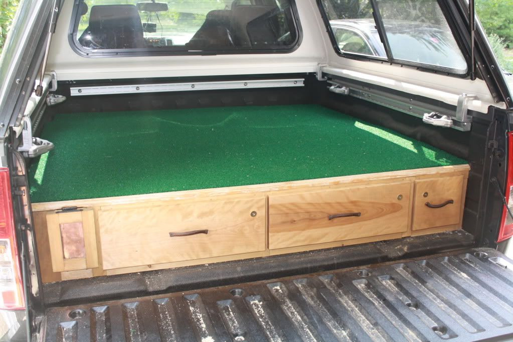 Best ideas about Truck Bed Organizer DIY . Save or Pin Beautiful homemade truck vault Now.