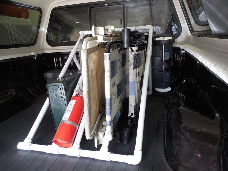 Best ideas about Truck Bed Organizer DIY . Save or Pin Homemade PVC Truck Bed Organizer Watch Video By my Now.