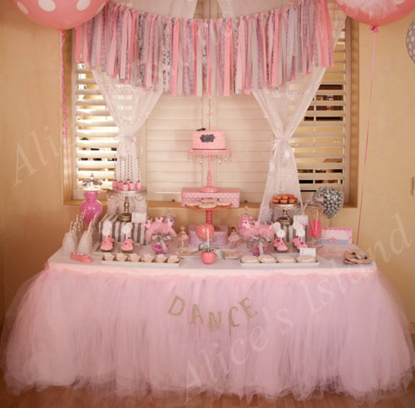 Best ideas about Tulle Table Skirt DIY . Save or Pin Organza Tulle Table Skirt DIY Fabric Spool Tutu Party Now.