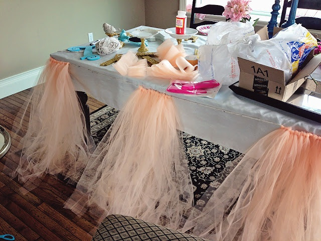 Best ideas about Tulle Table Skirt DIY . Save or Pin 1000 images about table skirts on Pinterest Now.