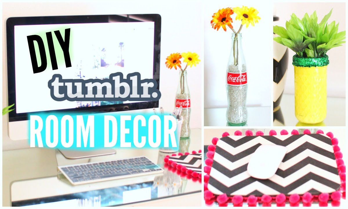 Best ideas about Tumblr DIY Room Decor . Save or Pin DIY Tumblr Room Decor Simple & Affordable Now.