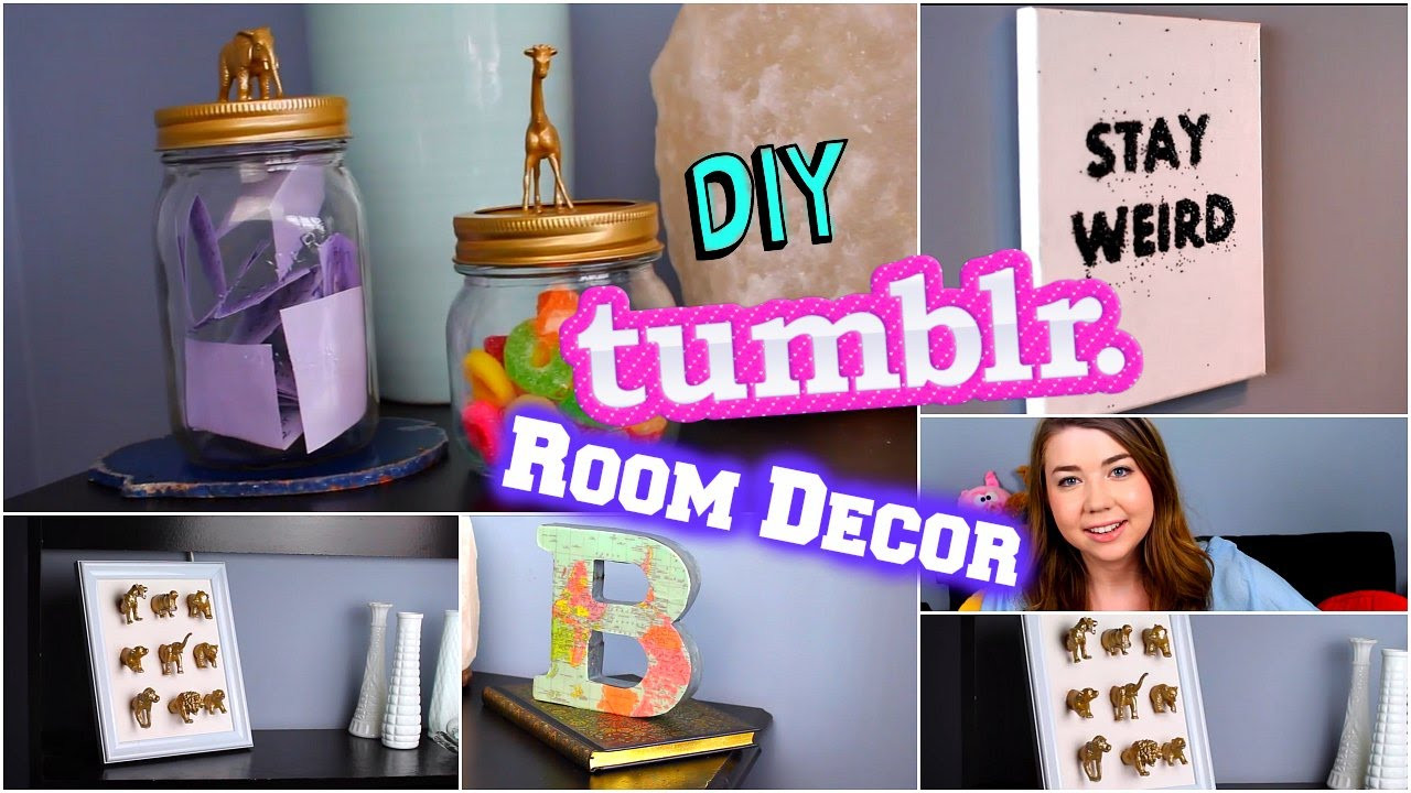 Best ideas about Tumblr DIY Room Decor . Save or Pin DIY Tumblr Room Decor 2015 Tumblr Inspired DIYs Cheap Now.