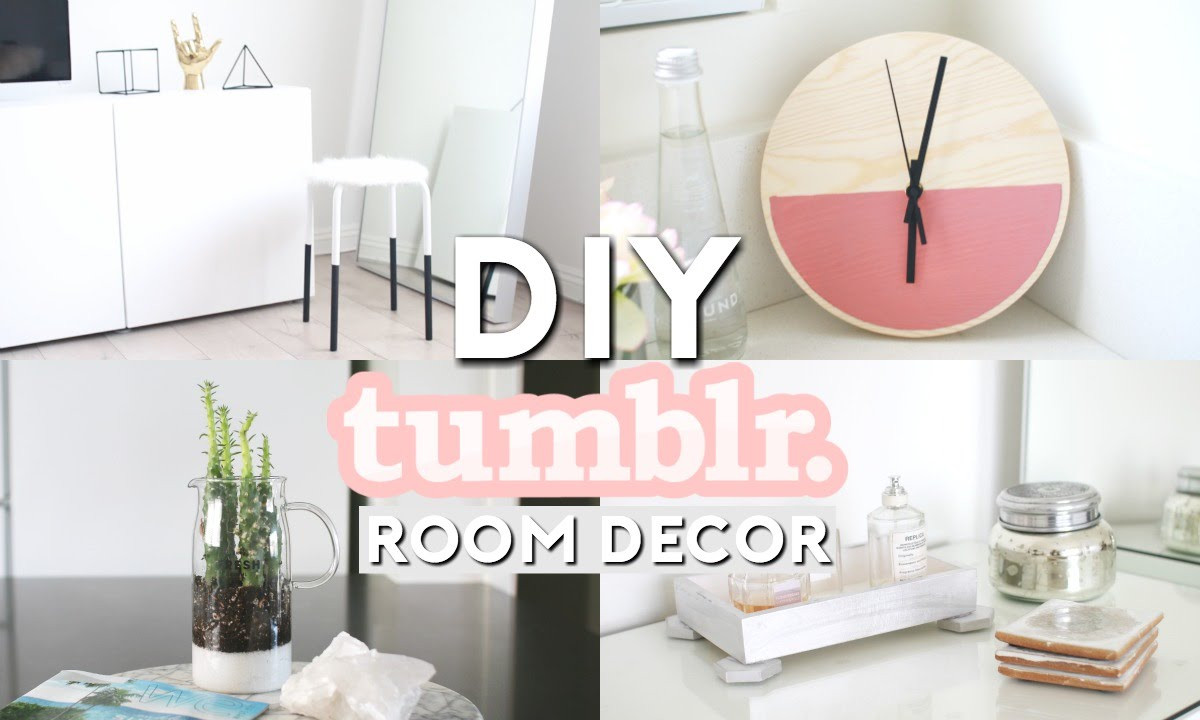 Best ideas about Tumblr DIY Room Decor . Save or Pin DIY Tumblr Room Decor Now.