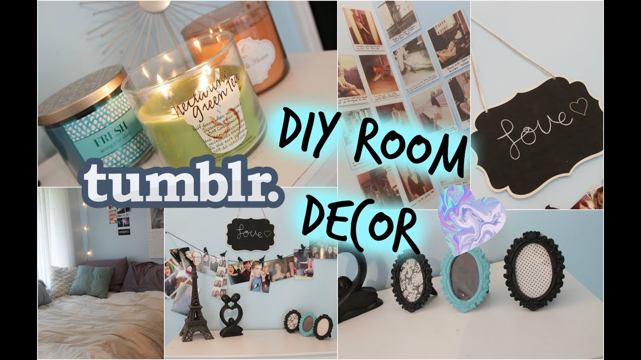 Best ideas about Tumblr DIY Room Decor . Save or Pin DIY Room Decor Tumblr Inspired Now.