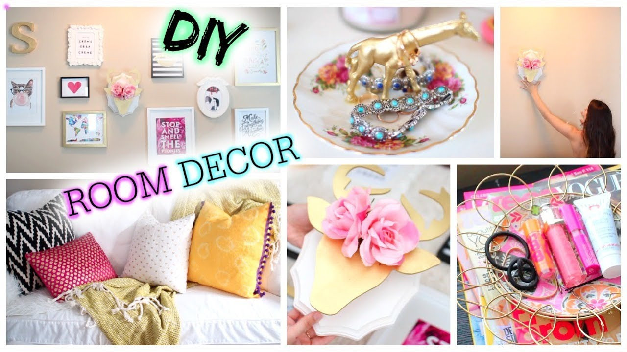 Best ideas about Tumblr DIY Room Decor . Save or Pin DIY Tumblr Room Decor Cute & Affordable Now.