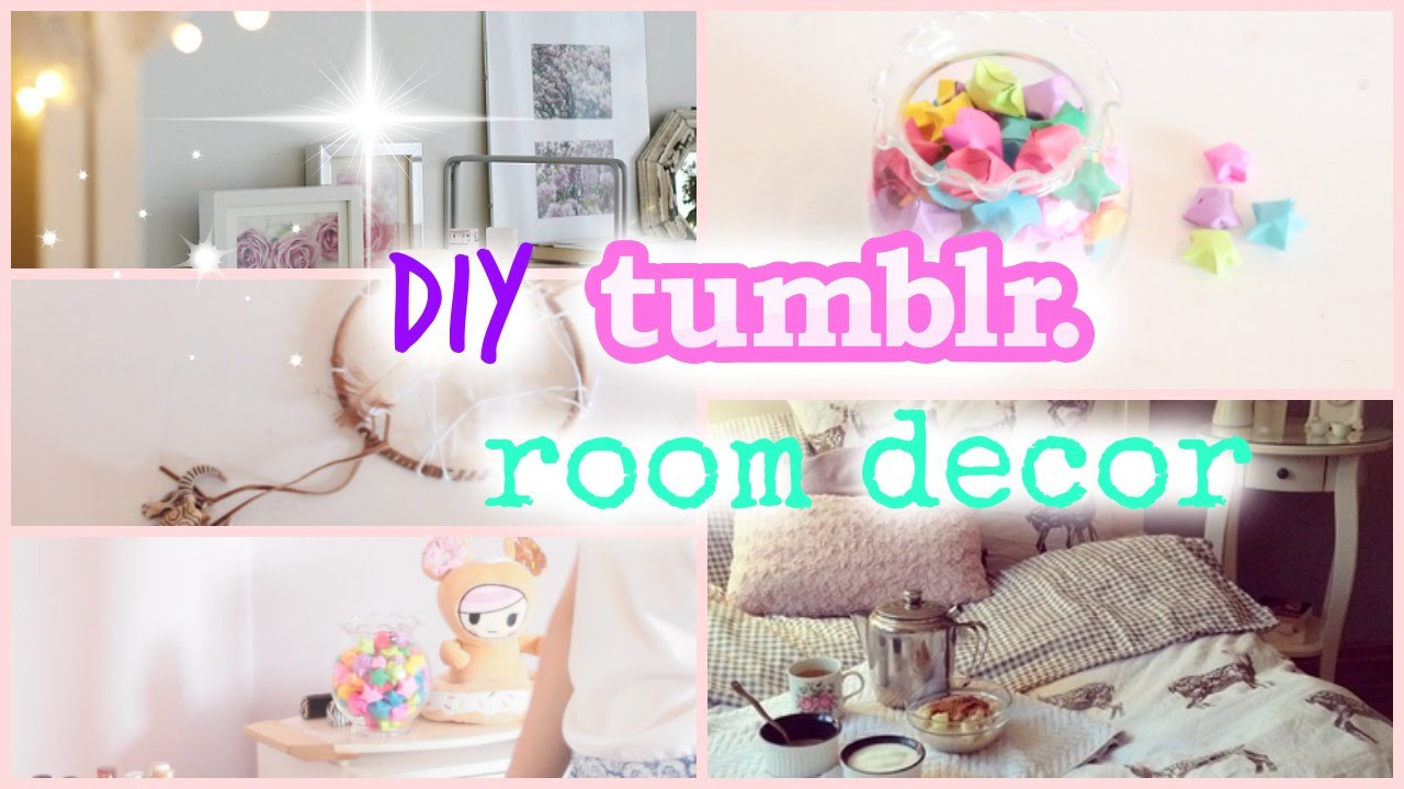 Best ideas about Tumblr DIY Room Decor . Save or Pin DIY Tumblr Room Decor Cute and affordable Now.