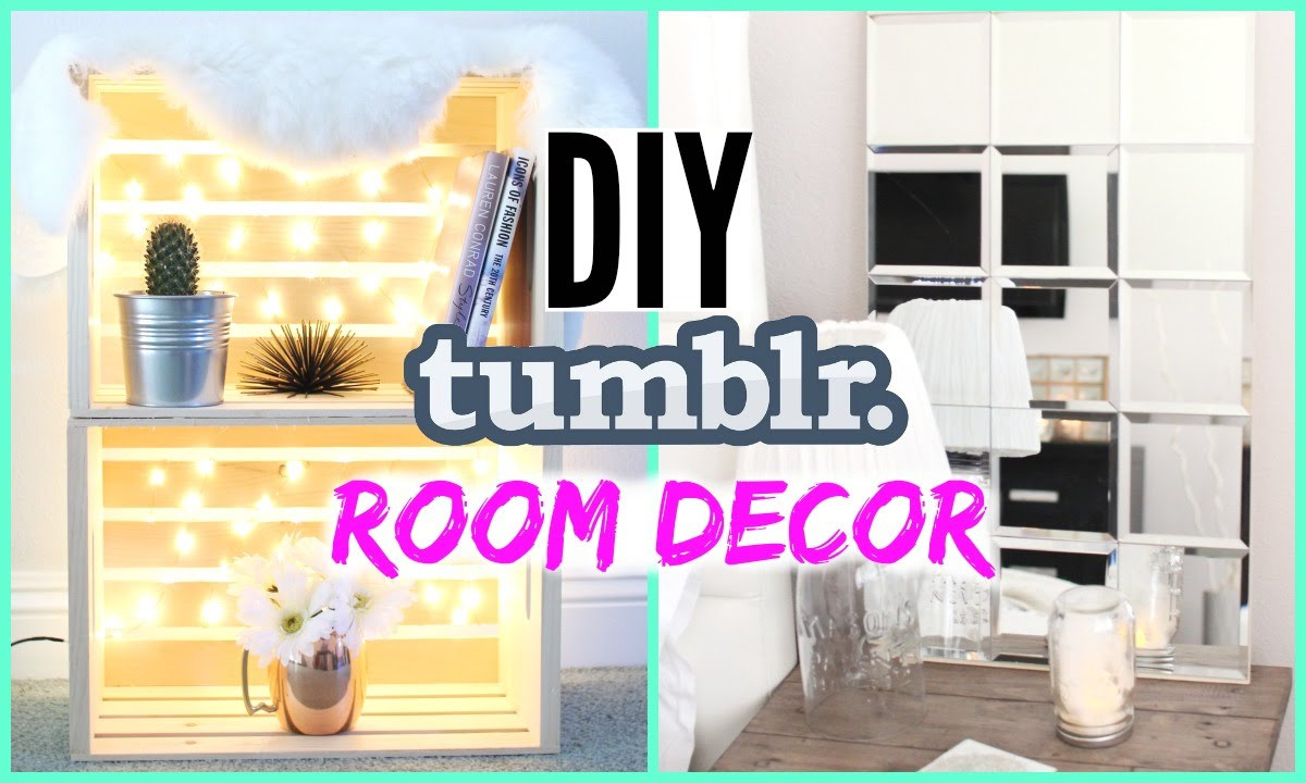 Best ideas about Tumblr DIY Room Decor . Save or Pin DIY Tumblr Room Decor Cheap & Simple Now.