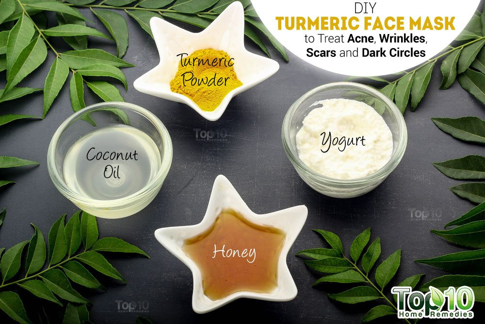 Best ideas about Turmeric Face Mask DIY . Save or Pin DIY Turmeric Face Mask to Treat Acne Wrinkles Scars and Now.