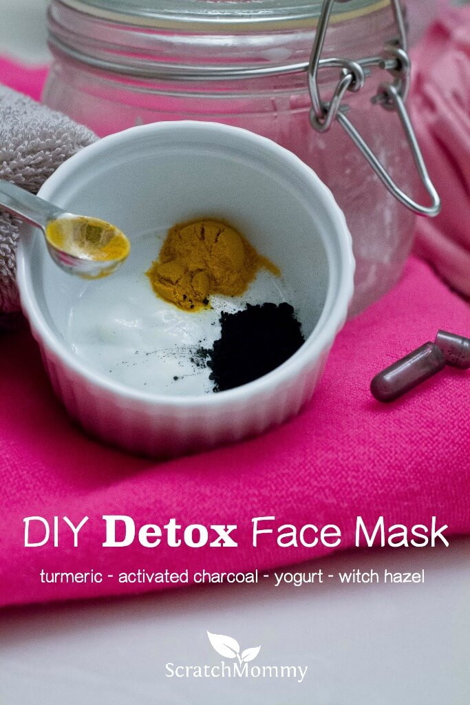 Best ideas about Turmeric Face Mask DIY . Save or Pin DIY Detox Face Mask Made With Charcoal Turmeric Witch Now.
