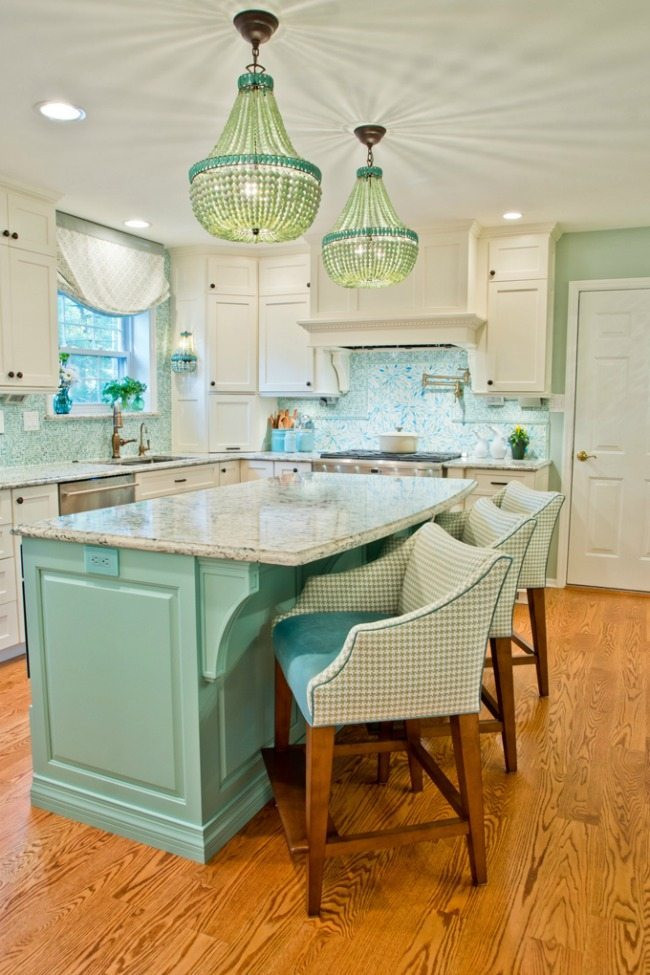 Best ideas about Turquoise Kitchen Decor Ideas . Save or Pin Turquoise and Aqua Kitchen Ideas Now.