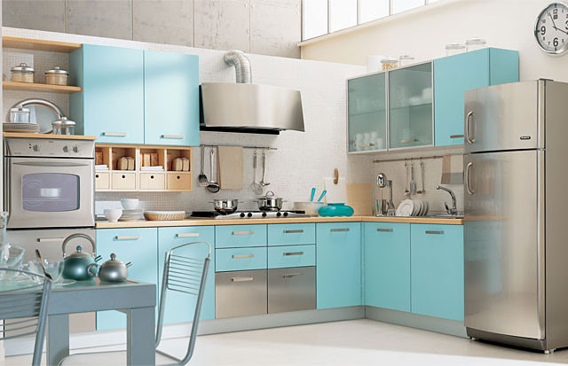 Best ideas about Turquoise Kitchen Decor Ideas . Save or Pin Kitchen design ideas Turquoise kitchen – HOUSE INTERIOR Now.