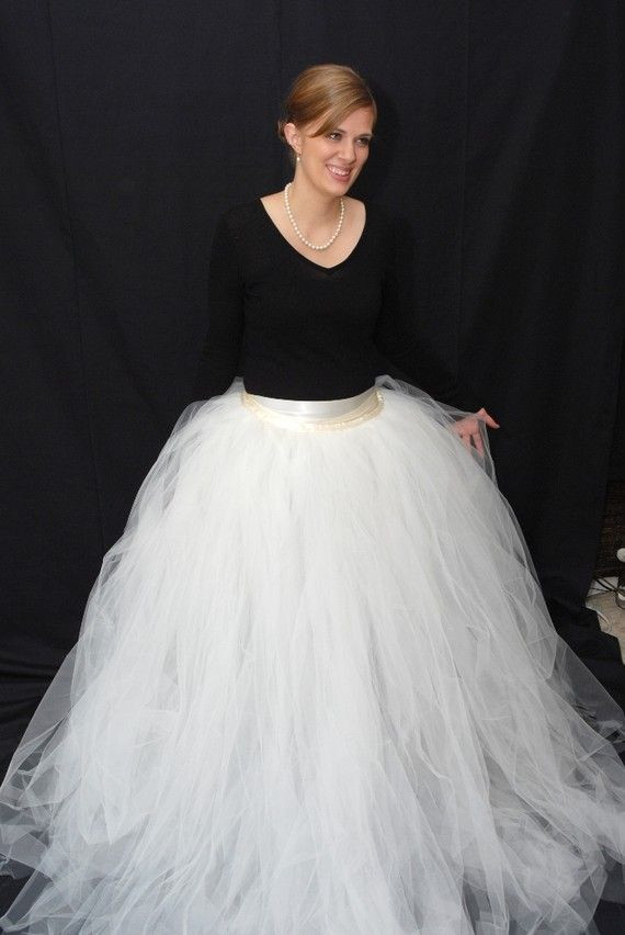 Best ideas about Tutu Skirts For Adults DIY . Save or Pin a tulle skirt that you can put over a dress and turn it Now.