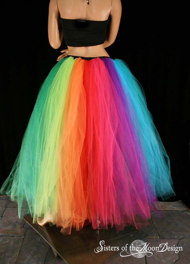 Best ideas about Tutu Skirts For Adults DIY . Save or Pin Best 25 Rainbow bright costumes ideas on Pinterest Now.