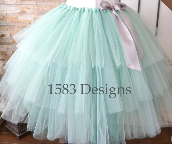 Best ideas about Tutu Skirts For Adults DIY . Save or Pin Three Tiered Custom Made Ribbon Tutu Skirt For adults and Now.
