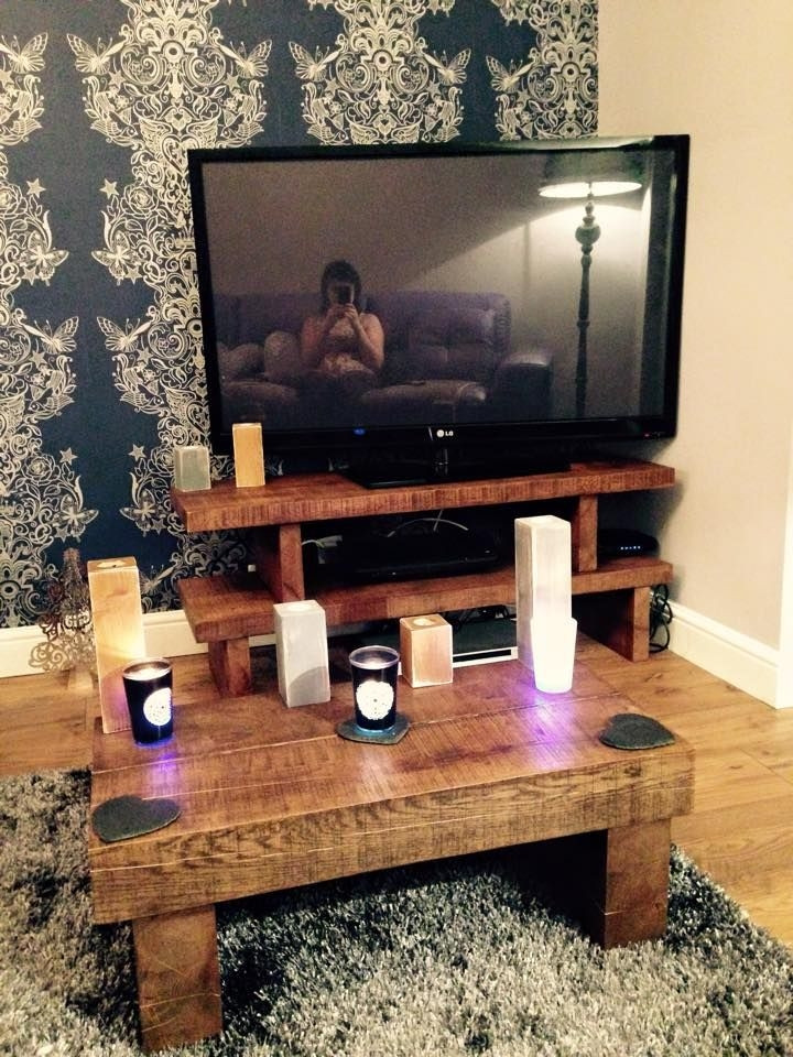 Best ideas about Tv Stand Coffee Table Set . Save or Pin Top 50 TV Stands Coffee Table Sets Now.