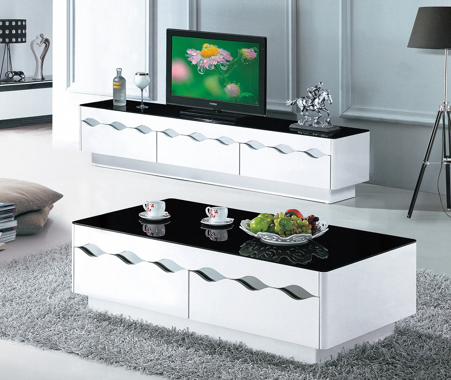 Best ideas about Tv Stand Coffee Table Set . Save or Pin Tv Stand And Coffee Table Set Now.