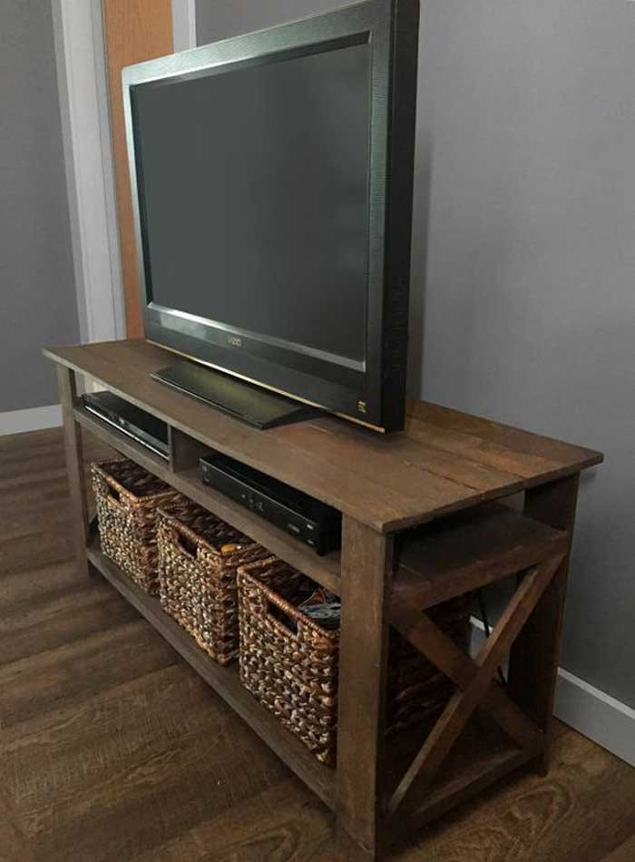 Best ideas about Tv Stand Ideas DIY . Save or Pin 50 Creative DIY TV Stand Ideas for Your Room Interior Now.